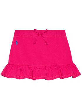 Polo Ralph Lauren Polo Ralph Lauren Szoknya Mesh Scooter 312837115001 Rózsaszín Regular Fit