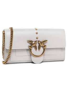 Pinko Pinko Дамска чанта Love Wallet Simply C AI 20-21 PLTT 1P21SF Y6JC Сив