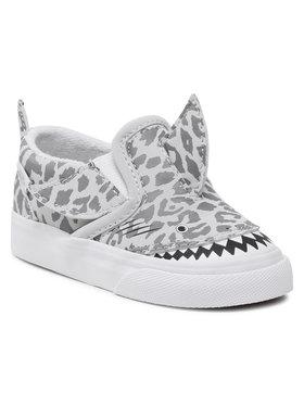 Vans Vans Sneakers aus Stoff Slip-On Shark VN0A5DXG3WQ1 Grau