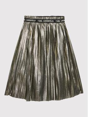 KARL LAGERFELD KARL LAGERFELD Φούστα Z13076 S Χρυσό Regular Fit