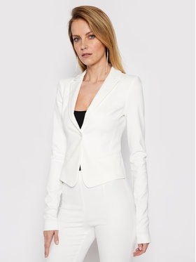 Patrizia Pepe Patrizia Pepe Blazer CSA501/AQ39-W146 Bianco Slim Fit