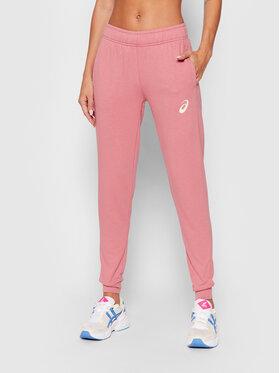 Asics Asics Spodnie dresowe Big Logo 2032A982 Różowy Regular Fit