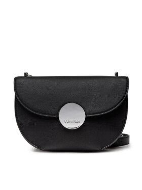Calvin Klein Calvin Klein Дамска чанта Ck Luxe Ew Shoulder Bag K60K608434 Черен