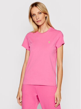 Polo Ralph Lauren Polo Ralph Lauren T-Shirt Ssl 211734144045 Różowy Regular Fit