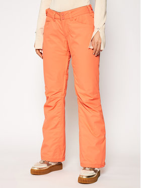 Roxy Roxy Pantaloni da sci Backyard ERJTP03127 Arancione Regular Fit