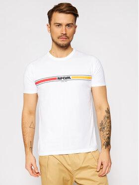 Rip Curl Rip Curl T-Shirt Mama Horizon CTEQK5 Bílá Standard Fit