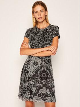 Desigual Desigual Každodenní šaty Paris 20WWVK62 Černá Regular Fit