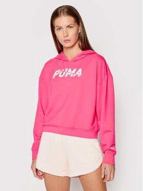 Puma Puma Majica dugih rukava Modern Sports 583540 Ružičasta Relaxed Fit
