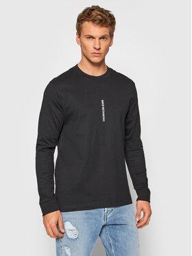 Calvin Klein Jeans Calvin Klein Jeans Longsleeve J30J318207 Czarny Regular Fit