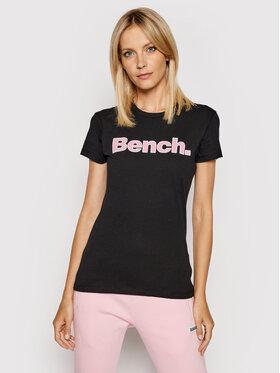 Bench Bench Tricou Leora 117360 Negru Regular Fit