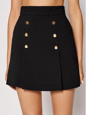 Elisabetta Franchi Elisabetta Franchi Mini suknja G0-490-16E2-V270 Crna Slim Fit