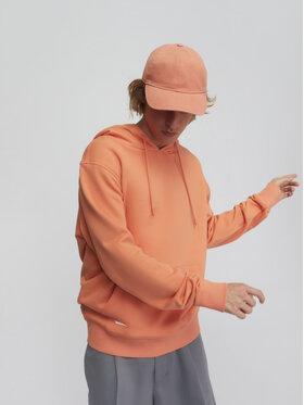 Sprandi Sprandi Bluza SS21-BLM014 Pomarańczowy Regular Fit