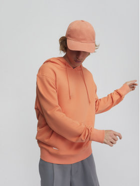 Sprandi Sprandi Majica dugih rukava SS21-BLM014 Narančasta Regular Fit