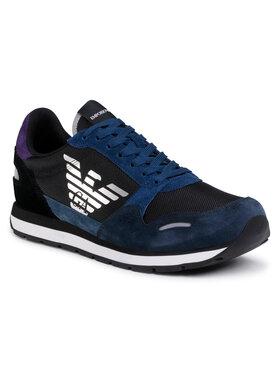 Emporio Armani Emporio Armani Sneakers X4X215 XL200 N061 Negru