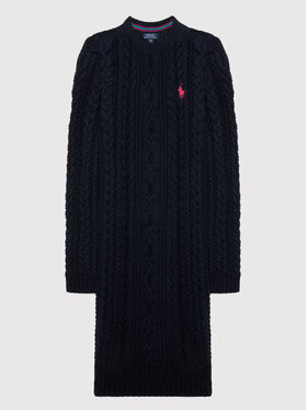 Polo Ralph Lauren Polo Ralph Lauren Ежедневна рокля Aran 312850504002 Тъмносин Regular Fit