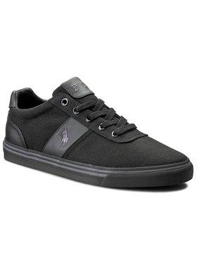 Polo Ralph Lauren Polo Ralph Lauren Sneakers aus Stoff Hanford A85 Y2139 C0225 W020K 816176919C43 Schwarz