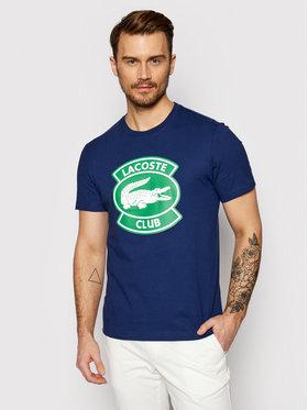 Lacoste Lacoste T-Shirt TH1786 Dunkelblau Regular Fit