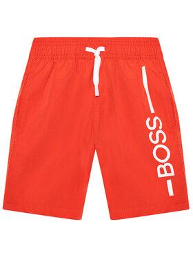 Boss Boss Szorty kąpielowe J24682 S Czerwony Regular Fit
