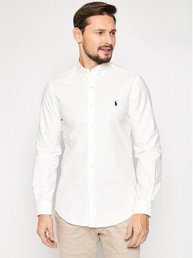 Polo Ralph Lauren Polo Ralph Lauren Πουκάμισο Classics 710736557 Λευκό Slim Fit