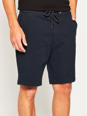 Lee Lee Kratke hlače Drawstring L73ULB21 Tamnoplava Regular Fit