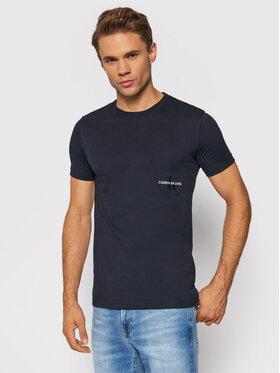 Calvin Klein Jeans Calvin Klein Jeans T-Shirt J30J318226 Granatowy Regular Fit