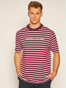 Tommy Hilfiger Tričko Logo Stripe UM0UM01868 Farebná Regular Fit