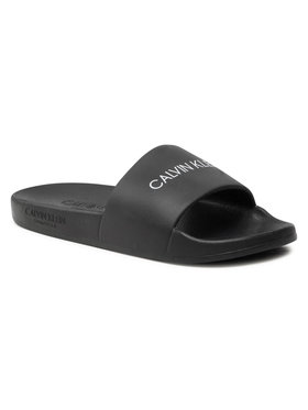 Calvin Klein Swimwear Calvin Klein Swimwear Чехли One Mold Slide KK0KK00075 Черен