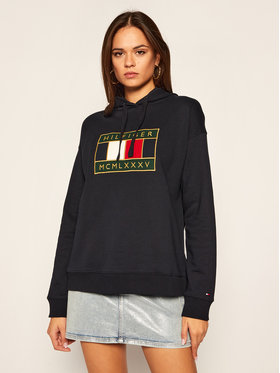 TOMMY HILFIGER TOMMY HILFIGER Sweatshirt WW0WW29372 Dunkelblau Regular Fit
