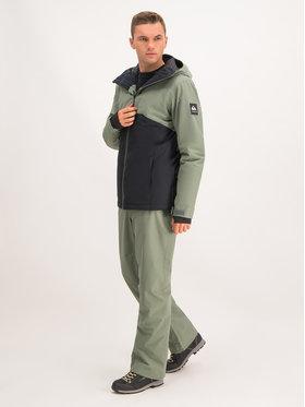 Quiksilver Quiksilver Spodnie snowboardowe Estate EQYTP03116 Zielony Modern Fit