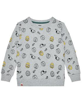 LEGO Wear LEGO Wear Majica dugih rukava 12010047 Siva Regular Fit