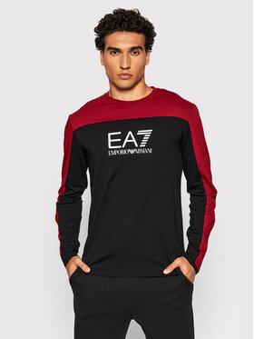 EA7 Emporio Armani EA7 Emporio Armani Marškinėliai ilgomis rankovėmis 6KPT11 PJ7CZ 1459 Juoda Slim Fit