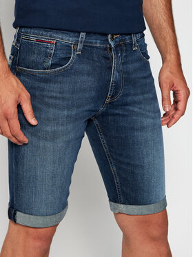 Tommy Jeans Tommy Jeans Džinsiniai šortai Ronnie DM0DM07974 Tamsiai mėlyna Relaxed Fit