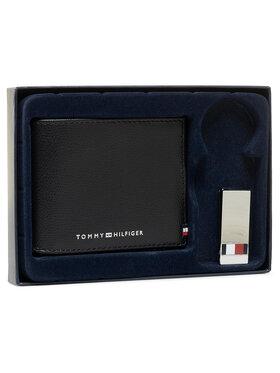 Tommy Hilfiger Tommy Hilfiger Ajándékszett Business Mini Cc Wallet And Clip AM0AM06723 Fekete