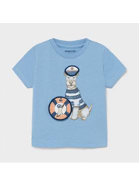 Mayoral Mayoral T-shirt 1007 Plava Regular Fit