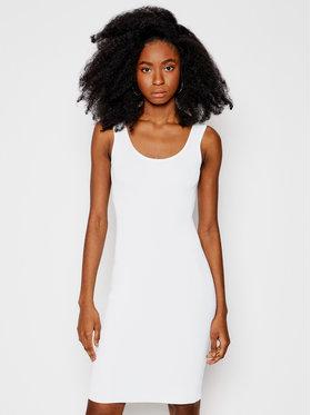 Guess Guess Každodenné šaty W1GK85 Z2U00 Biela Slim Fit