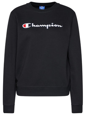 Champion Champion Bluză Sweat Crewneck 113190 Negru Regular Fit
