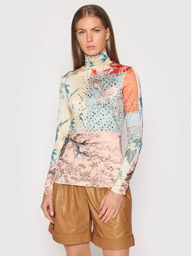 Desigual Desigual Bluză cu gât Kyoto 21WWTKA9 Colorat Slim Fit
