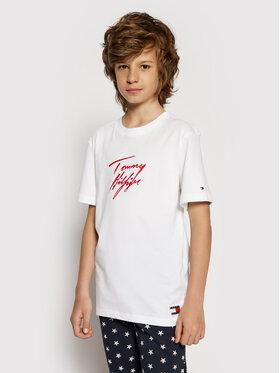 Tommy Hilfiger Tommy Hilfiger T-Shirt UB0UB00296 Λευκό Regular Fit