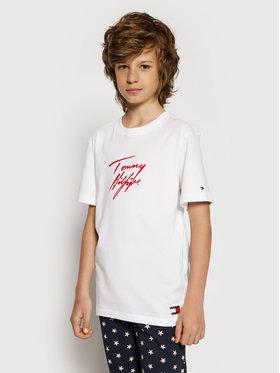 Tommy Hilfiger Tommy Hilfiger T-Shirt UB0UB00296 Weiß Regular Fit