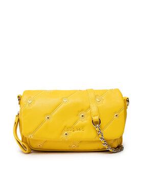 Desigual Desigual Дамска чанта 21WAXP77 Жълт