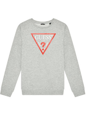 Guess Guess Μπλούζα L73Q09 K5WK0 Γκρι Regular Fit