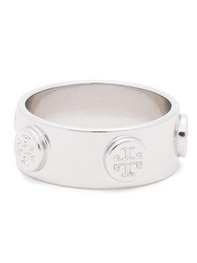 Tory Burch Tory Burch Inel Logo Stud Ring 53362 Argintiu