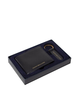 Tommy Hilfiger Tommy Hilfiger Coffret cadeau Gp Mini Cc Wallet & Key Fob AM0AM07930 Noir