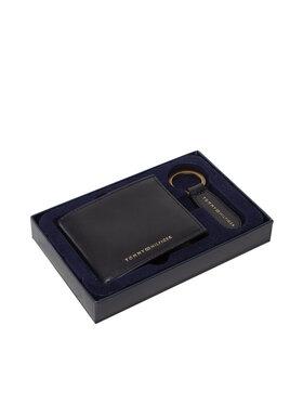 Tommy Hilfiger Tommy Hilfiger Darčekový set Gp Mini Cc Wallet & Key Fob AM0AM07930 Čierna