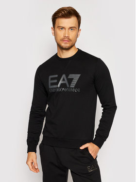 EA7 Emporio Armani EA7 Emporio Armani Bluza 6KPM60 PJ05Z 1200 Czarny Regular Fit