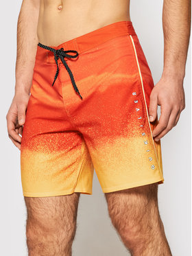 "Quiksilver Quiksilver Badeshorts Surfsilk Massive 17"" EQYBS04527 Orange Regular Fit"