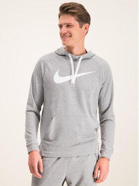 Nike Nike Mikina Dry Hoodie 885818 Sivá Standard Fit
