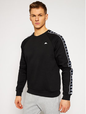 Kappa Kappa Sweatshirt Harris 308016 Schwarz Regular Fit