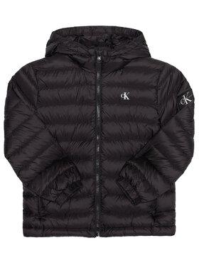 Calvin Klein Jeans Calvin Klein Jeans Μπουφάν πουπουλένιο Light Down Jacket IB0IB00554 Μαύρο Regular Fit