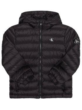 Calvin Klein Jeans Calvin Klein Jeans Pehelykabát Light Down Jacket IB0IB00554 Fekete Regular Fit